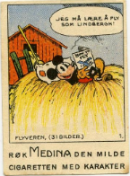 In Search Of The Earliest Known Pre-War Mickey Mouse Trading Card Series