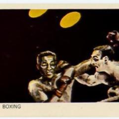 1964 Vintage Cassius Clay Olympic Heinz Veb Egg Trading Card