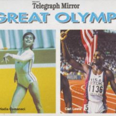 "Scarce Series Found ""The Great Olympians Newspaper Giveaway Cards"""