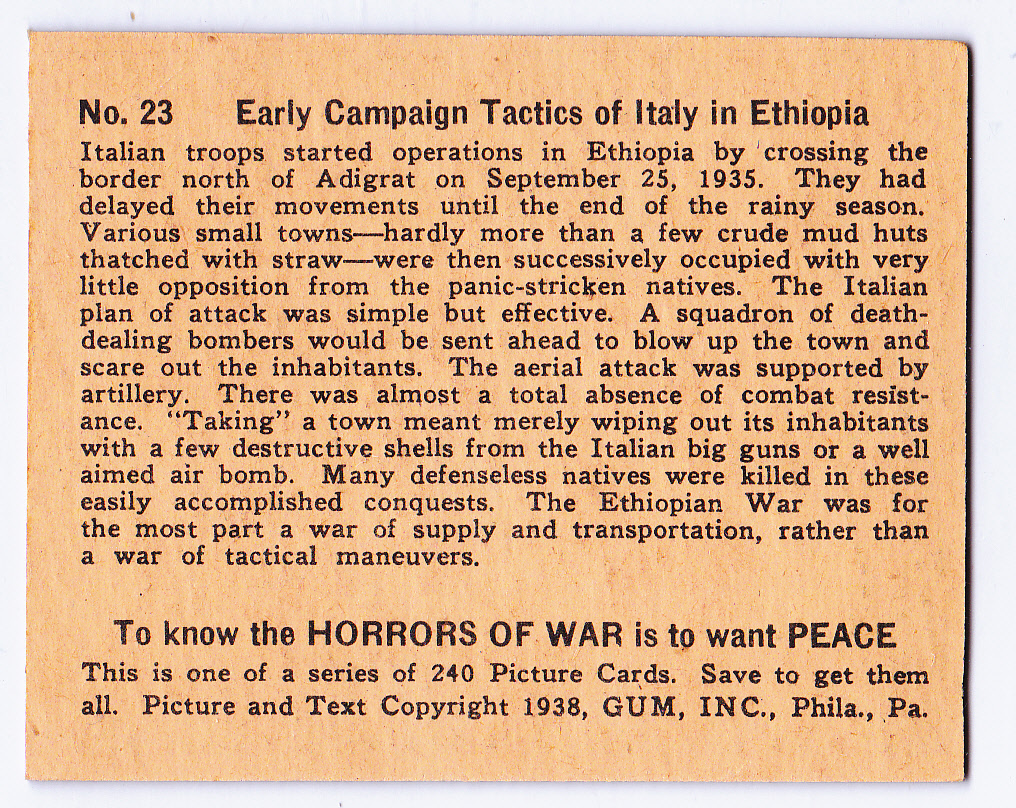 horrors of war Horrors of war has 10 ratings and 1 review gordan said: probably the strangest  book i readfranjo was writing about everything, history (ancient, moder.