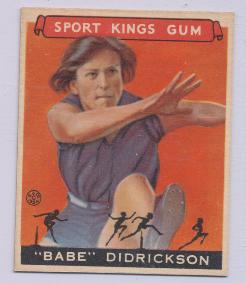 1933-Goudey-Sport-Kings-Babe-Didrickson