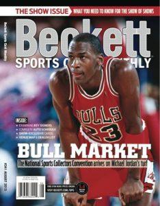 Beckett Magazine Price Guide Jordan