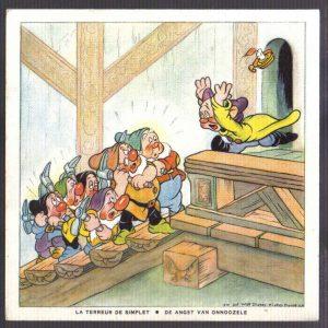 Cadum Savon Snow White & the Seven Dwarves Disney Trading cards 13