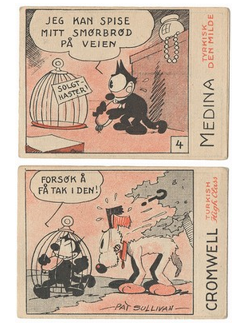 Cromwell Felix The Cat Cards