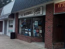 Neighborhood Trading Card Store