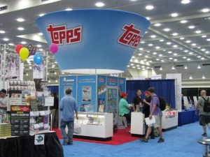 Topps Convention Booth