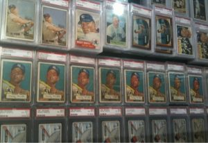 Vintage PSA Graded Mickey Mantle Cards