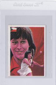 1979 Quelcom Ases Mundiales Del Deporte Tennis Card Navratilova #150